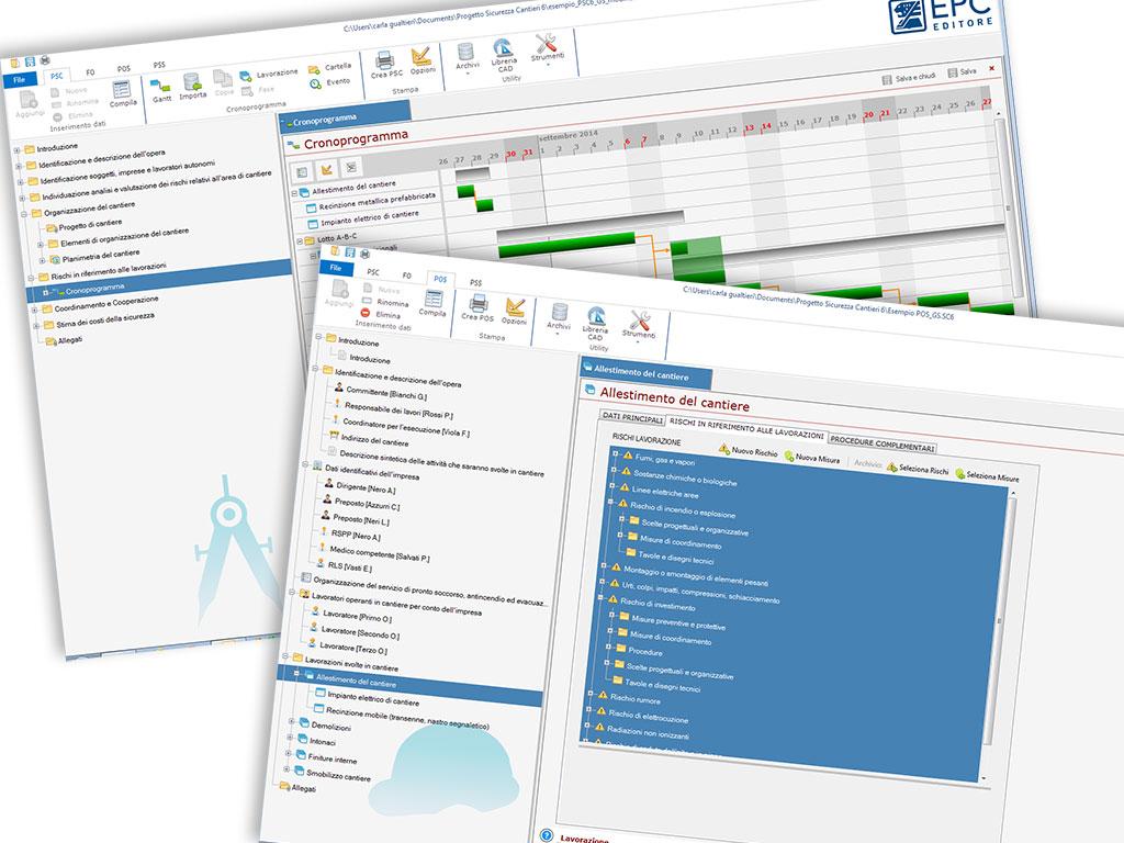 Software per redazione piani di sicurezza nei cantieri for Piani di aggiunta suite suocera